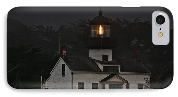 Point Pinos Lighthouse Ca Phone Case by Christine Till