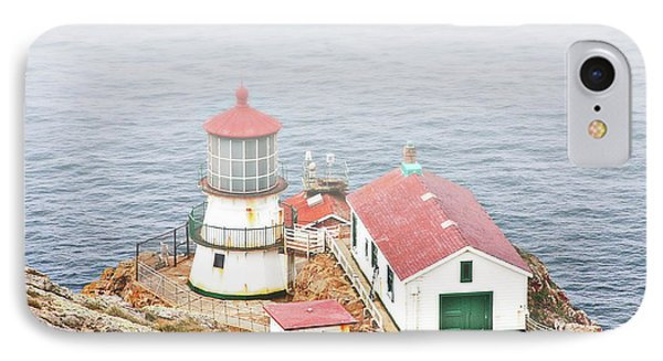Point Reyes Lighthouse At Point Reyes National Seashore Ca Phone Case by Christine Till