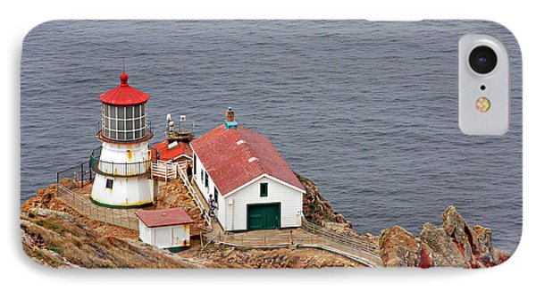 Point Reyes Lighthouse Ca Phone Case by Christine Till