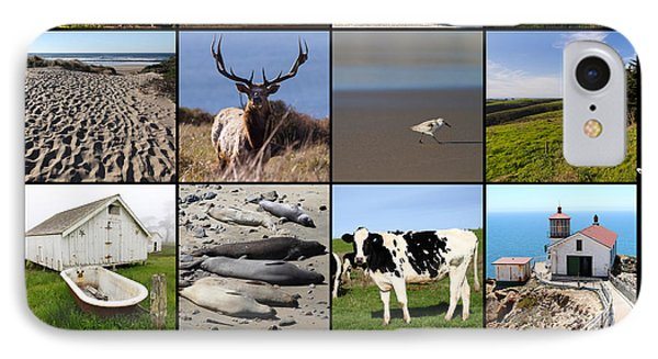 Point Reyes National Seashore 20150102 With Text IPhone Case