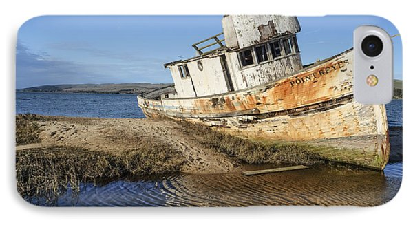 Point Reyes Shipwreck IPhone Case by Amy Fearn