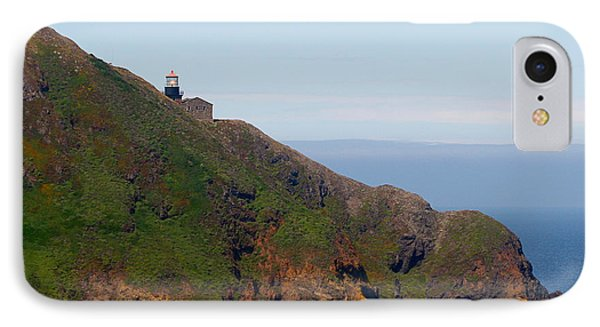 Point Sur Lighthouse Ca  Phone Case by Christine Till