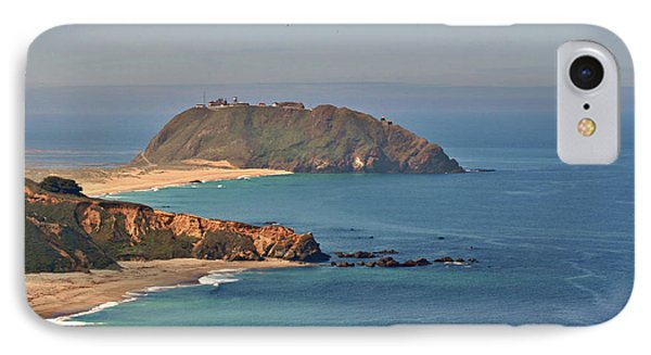 Point Sur Lighthouse On Central California's Coast - Big Sur California Phone Case by Christine Till