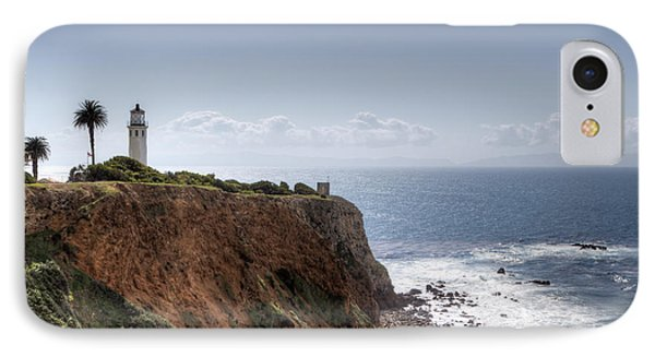 Point Vicente Lighthouse In Winter IPhone Case by Heidi Smith