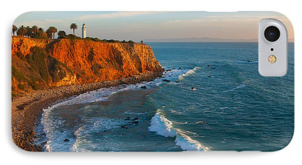 IPhone Case featuring the photograph Point Vicente Lighthouse Palos Verdes California by Ram Vasudev