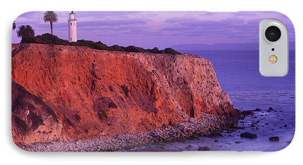 IPhone Case featuring the photograph Point Vicente Lighthouse - Point Vicente - Orange County by Photography By Sai