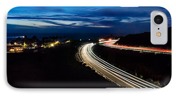 Point Vincente Light Trails IPhone Case