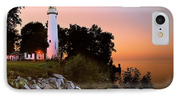 Pointe Aux Barques IPhone Case