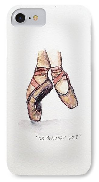 Pointe On Friday IPhone Case by Venie Tee
