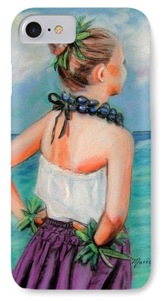 Poipu Hula IPhone Case by Marionette Taboniar