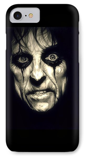Poison Alice Cooper IPhone Case by Fred Larucci
