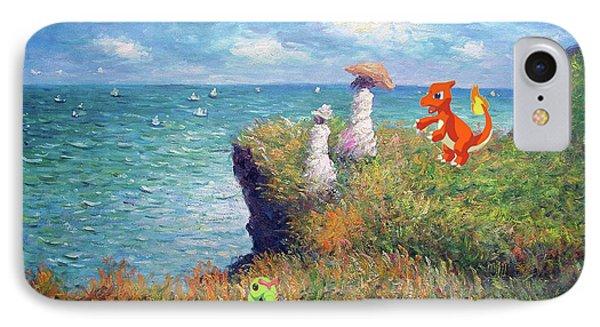 IPhone Case featuring the digital art Pokemonet Seaside by Greg Sharpe