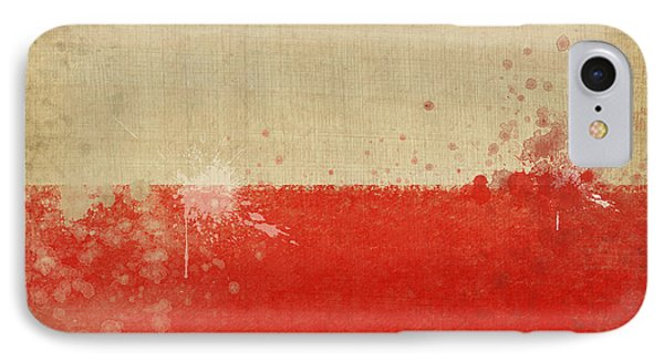 Poland Flag  IPhone Case by Setsiri Silapasuwanchai