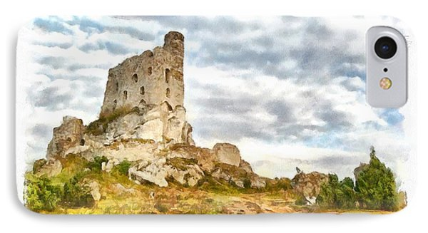 Mirow Castle Ruins In Poland IPhone Case by Maciek Froncisz