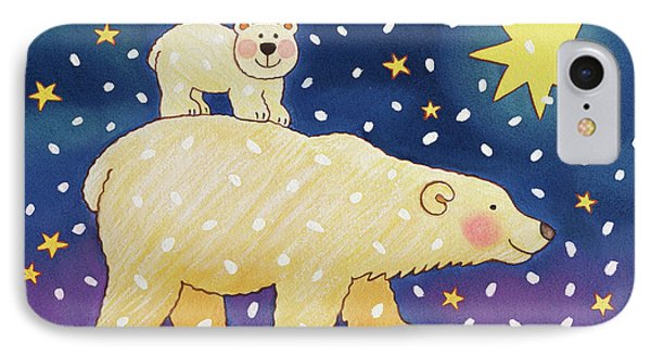 Polar Back Ride IPhone Case by Cathy Baxter