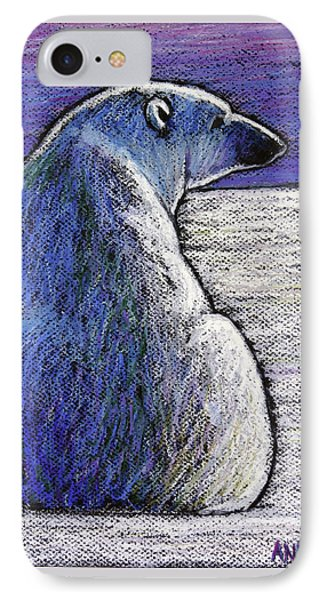 Polar Bear Backside IPhone Case by Ande Hall