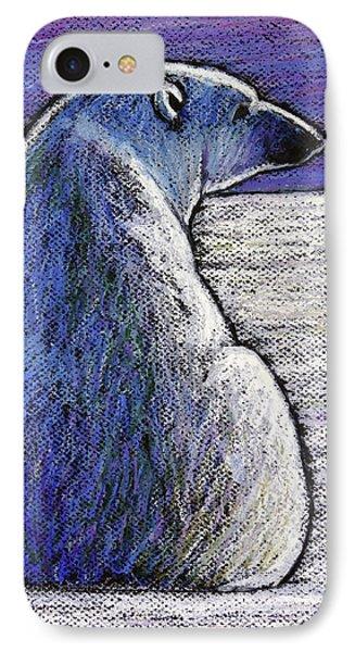 Polar Bear Backside IPhone 7 Case by Ande Hall