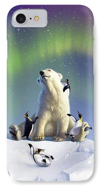 Penguin iPhone 7 Case - Polar Opposites by Jerry LoFaro