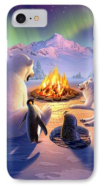 Penguin iPhone 7 Case - Polar Pals by Jerry LoFaro