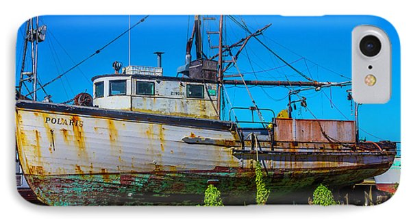 Polaris In Dry Dock IPhone Case by Garry Gay