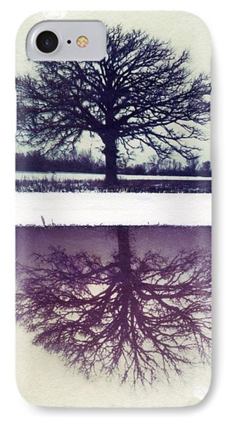 Polaroid Transfer Tree Phone Case by Jane Linders