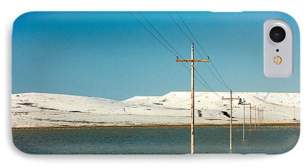 Poles Submerged IPhone Case by Todd Klassy