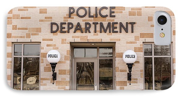 Police Station Building IPhone Case