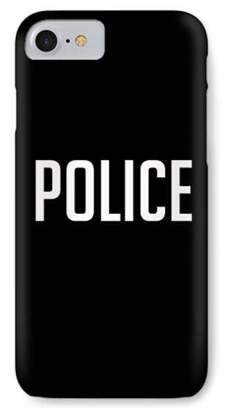Police Tee IPhone Case