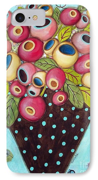 Polka Dot Pot IPhone Case by Karla Gerard