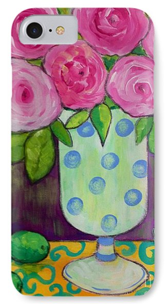 Polka-dot Vase IPhone Case