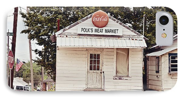 Polk's Meat Market Phone Case by Scott Pellegrin