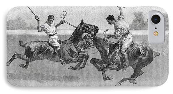 Polo Players IPhone Case