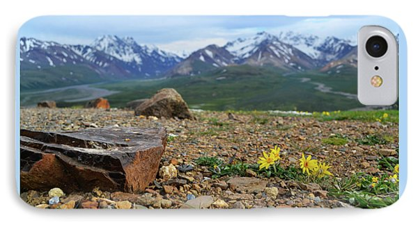 Polychrome Pass, Denali IPhone Case by Zawhaus Photography
