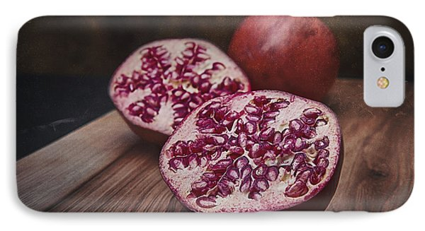 Pomegranates IPhone Case by Tom Mc Nemar