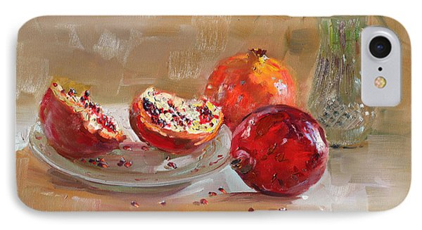 Pomegranates IPhone Case by Ylli Haruni