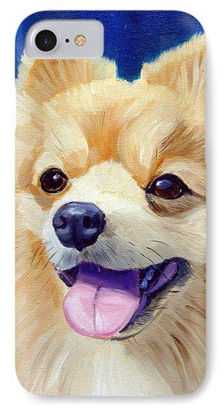 Pomeranian Phone Case by Lyn Cook