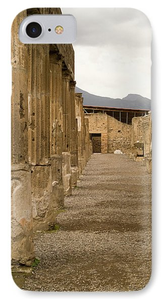 IPhone Case featuring the photograph Pompeii Columns by Michael Flood