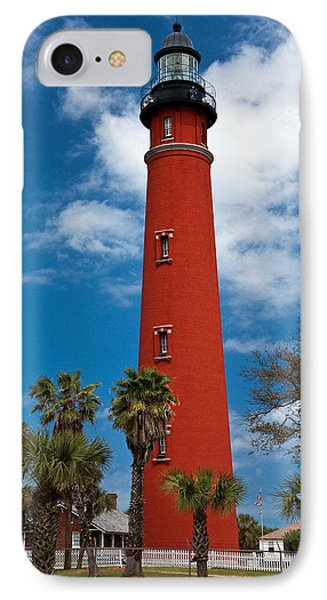 Ponce Inlet Lighthouse Phone Case by Christopher Holmes