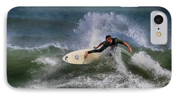 IPhone Case featuring the photograph Ponce Surfer 2017 by Deborah Benoit