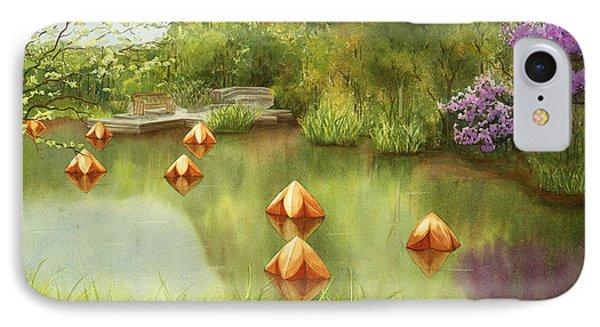 Pond At Olbrich Botanical Garden IPhone Case