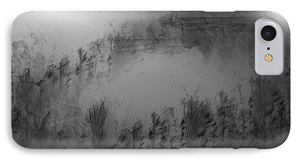 Pond By Moonlight Phone Case by John Krakora