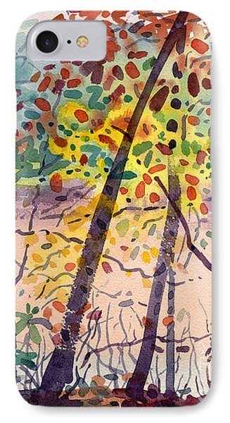 Pond In Fall IPhone Case