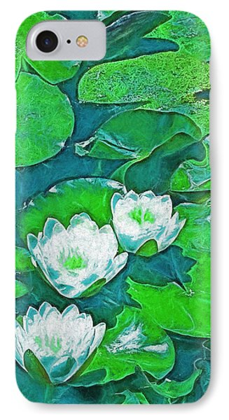 Pond Lily 2 IPhone Case by Pamela Cooper
