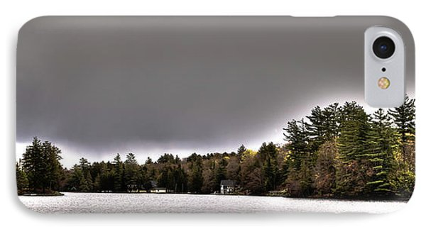 Pond Panorama IPhone Case by David Patterson