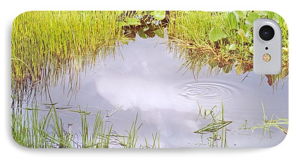 Pond Ripples Photo IPhone Case