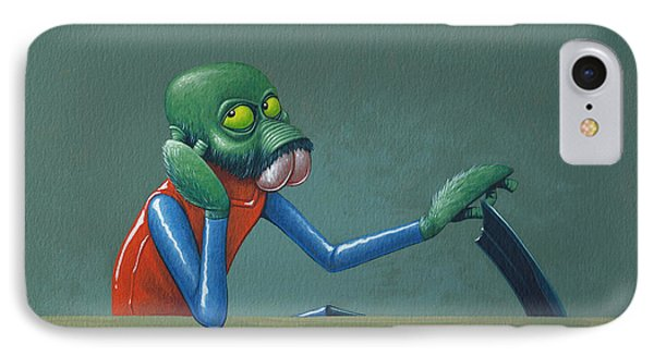 Ponda Baba IPhone Case by Jasper Oostland