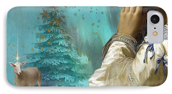 Pondering Peace Phone Case by Laura Botsford