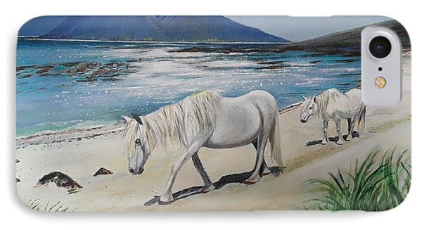 Ponies Of Muck- Painting IPhone Case