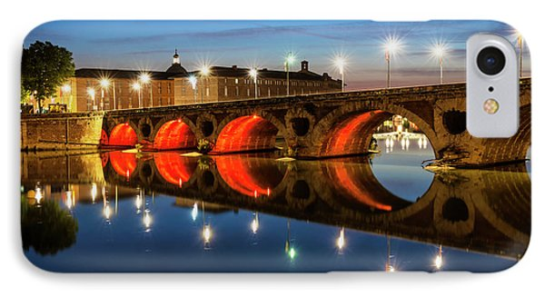 IPhone Case featuring the photograph Pont Neuf In Toulouse by Elena Elisseeva