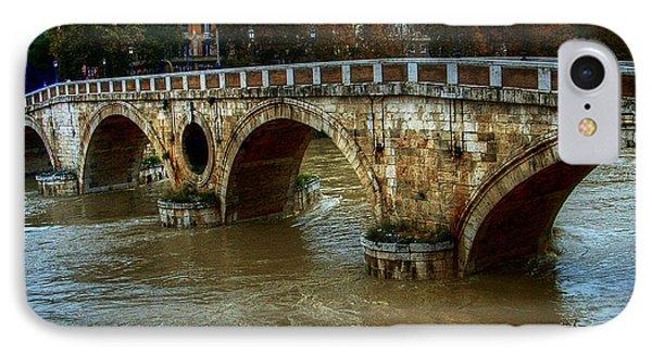 Ponte Sisto Bridge Rome IPhone Case